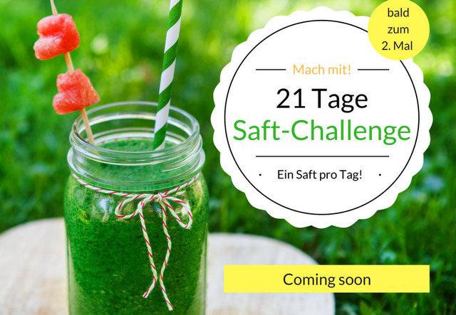 Blog - 21 Tage Saft-Challenge22017